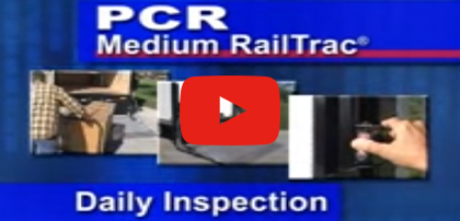 PCR Medium RailTrac Checklist for Inspection