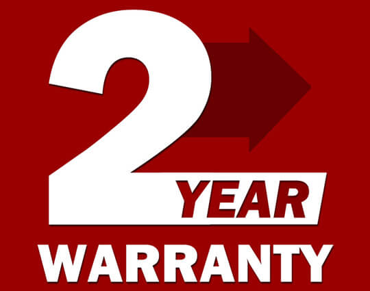 Industry-Leading Warranty