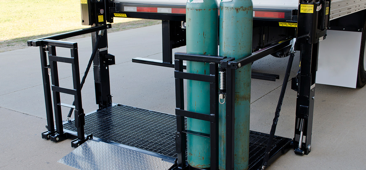 Gas Bottle Heavy Duty Series Magnum Railtrac Liftgate