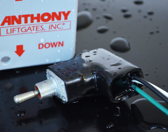medium duty series pcr power close railtrac™ liftgatecircuit protection 200 amp fuse protects truck wiring from a \u201cdead short\u201d