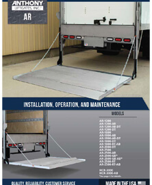 AR DT Installation and Operation Manual
