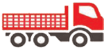 Stake Bed Truck Icon